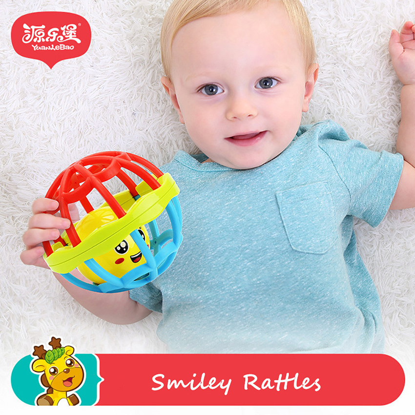 a8e718c4f Yuanlebao Baby Rattles Ball Toy for Kids 0 3 year Old Teether ...