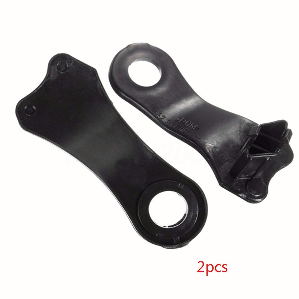 2 Pairs E60 Headlight Halogen Durable High Quality Headlight Clips Plastic Repair Brackets For BMW E60 E61 #63126941478