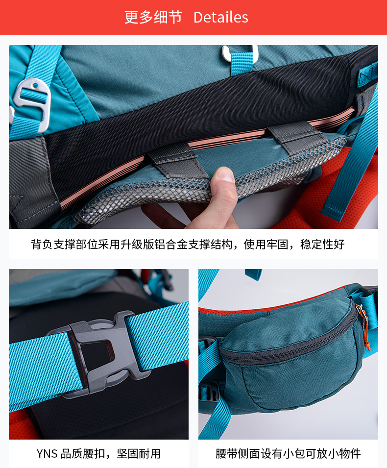 5l saco de escalada à prova dwaterproof água caminhadas mochilas