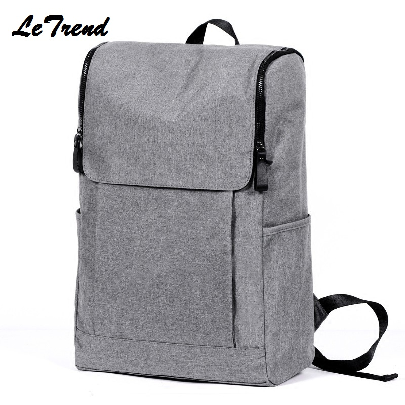 2017 New Multifunction School Bag Men 15Inch Laptop Backpacks For Teenager Male Mochila Leisure Travel Backpack Tough LeTrend 2016 new design laptop backpacks 14 15 4 15 6 inch genuine leather laptop bag 15 6 inch free gift keyboard cover for macbook 15