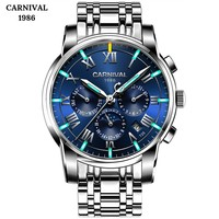 2019 Tritium Luminous Watches Top Brand Men Mechanical Watch Automatic Fashion Luxury Stainless Steel Male Clock Relogio