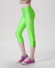 women yoga pants socks tights leggings fitness sports women pants capris Summer Tight Black Leggins Sports Jogging GYM-Clothing