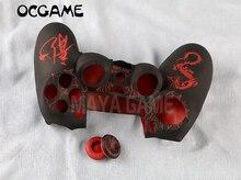OCGAME haute qualité pour ps4 playstations 4 contrôleur coque en silicone avec la manette 3d boutons de protection