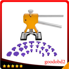 PDR Tools Dent Removal Paintless Dent Repair Tools PDR Dent Puller Dent Lifter with 24pc Glue Tabs Hand Tool Set For Car Repair whdz pdr tools paintless dent repair tools dent lifter dent puller tabs golden dent lifter hand tool set pdr toolkit ferramentas