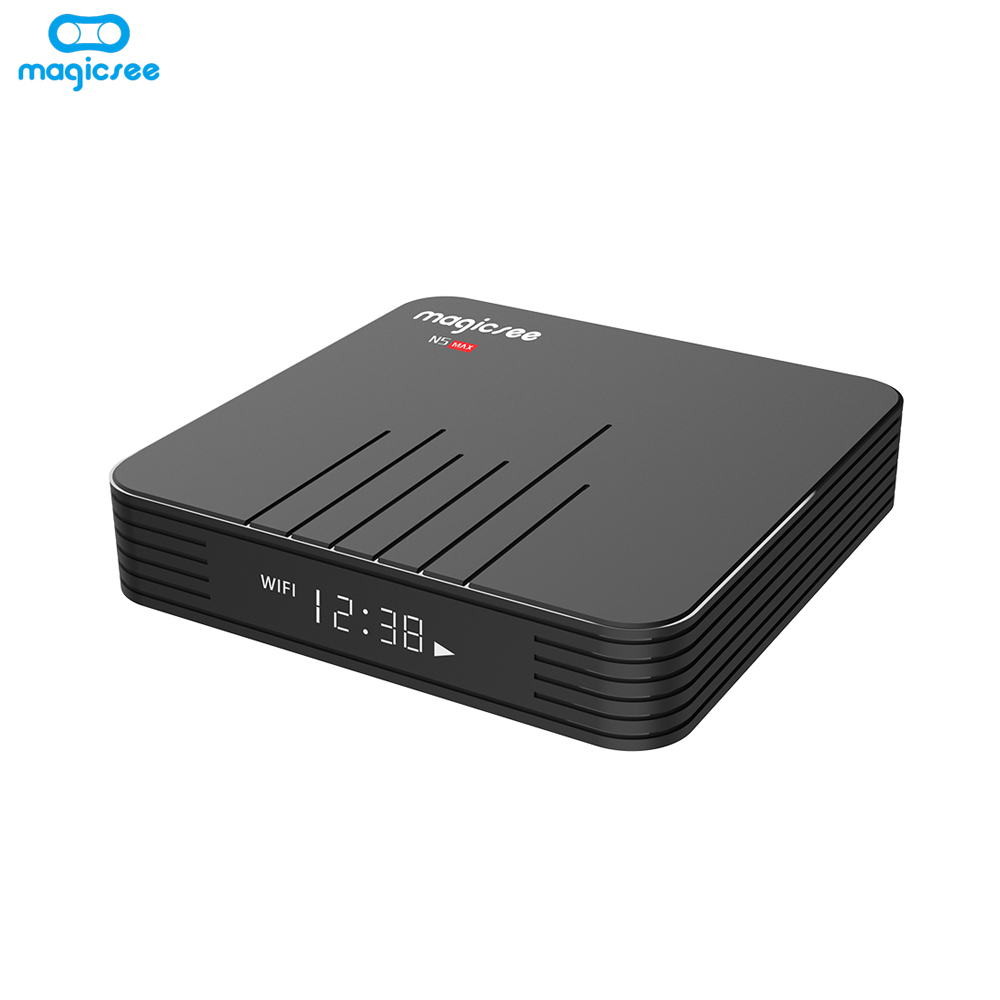 Tv Receivers New Fashion Android 9.0 Tv Box Hk1 Max 4gb Rk3328 Quad Core Smart Tv 2.4g&5ghz Wifi Bluetooth 4k 1080p Set Top Box Set-top Boxes