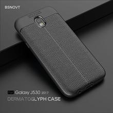 For Samsung Galaxy J7 2017 Case Soft TPU Leather Anti-knock Cover J730 EU