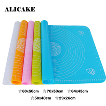 60cm*50cm Silicone Baking Mats Big Size Bakeware Durable Safe for Baking Pastry Tools