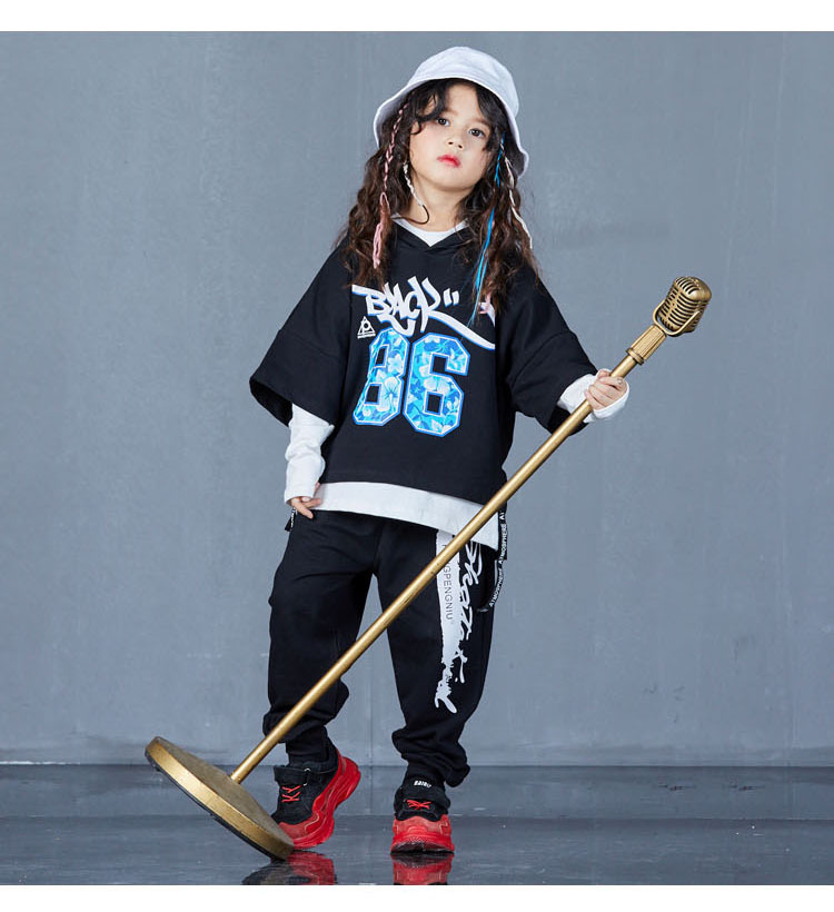 boys hip hop clothing set 1073-15