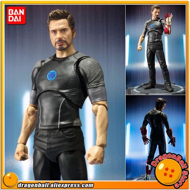 Iron Man Original BANDAI Tamashii Nations S.H.Figuarts / SHF Action Figure - Tony Stark original bandai tamashii nations s h figuarts shf action figure spider man homecoming