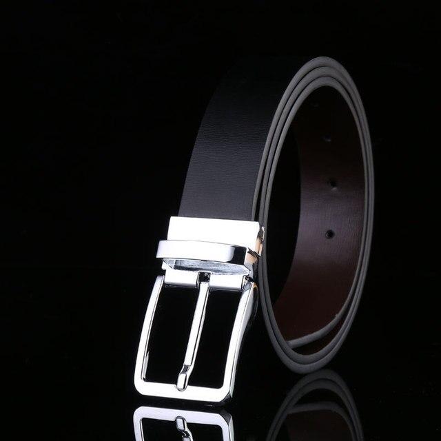 Pin Buckle Genuine Leather Men's Belt