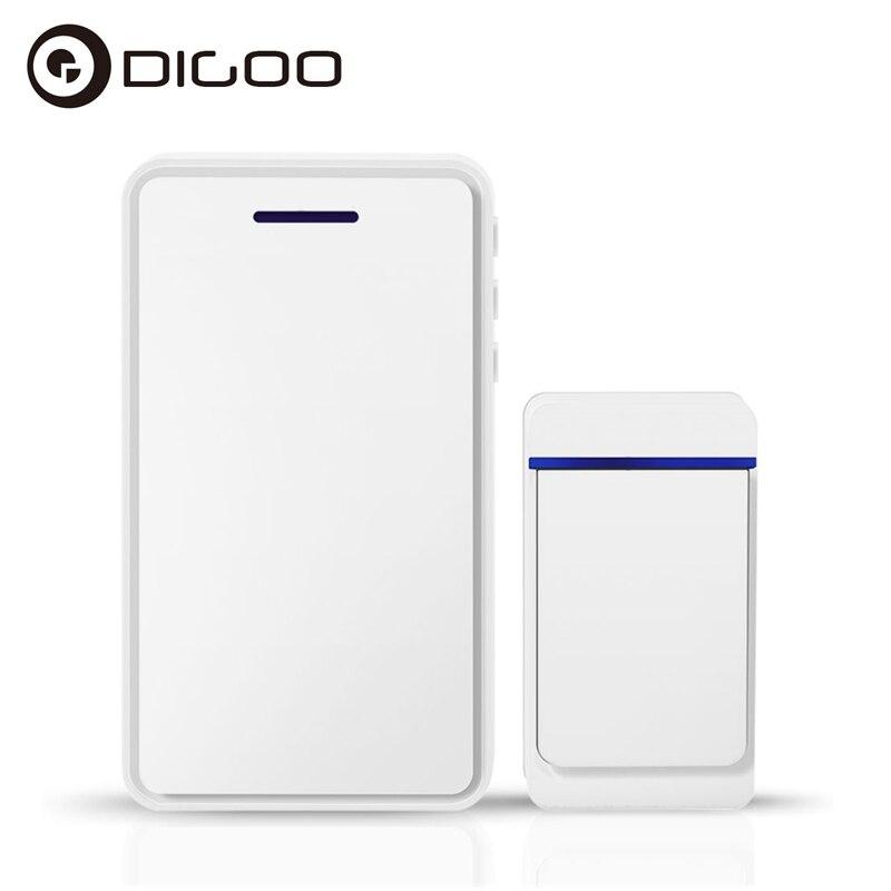 DIGOO DG-ZTA Wifi Doorbell Indoor Outdoor 433MHz Smart Home Doorbell Waterproof 52 Melodies 5 Levels Work with DIGOO SB-XYA dg home стул james