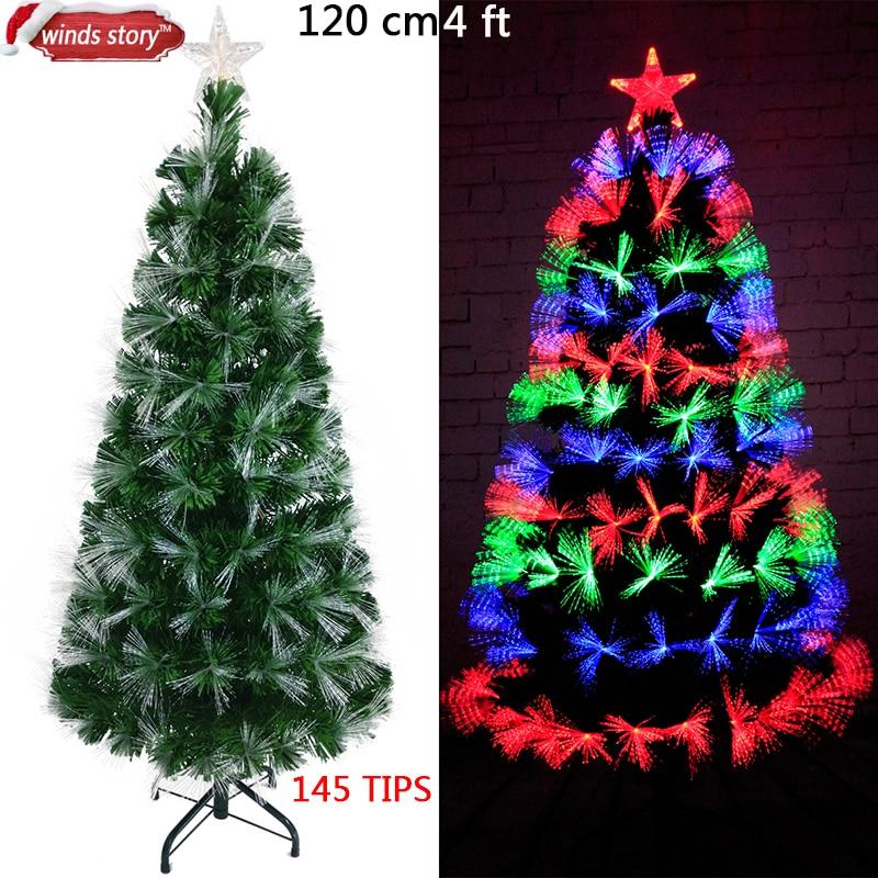Weihnachtsbaum Künstlich 2m.Us 73 0 Weihnachtsbaum Faseroptischen Led Künstliche Chrismas Baum Green Flash Indoor Weihnachtsbäume Geschenk Weihnachtsschmuck Für Zu Hause