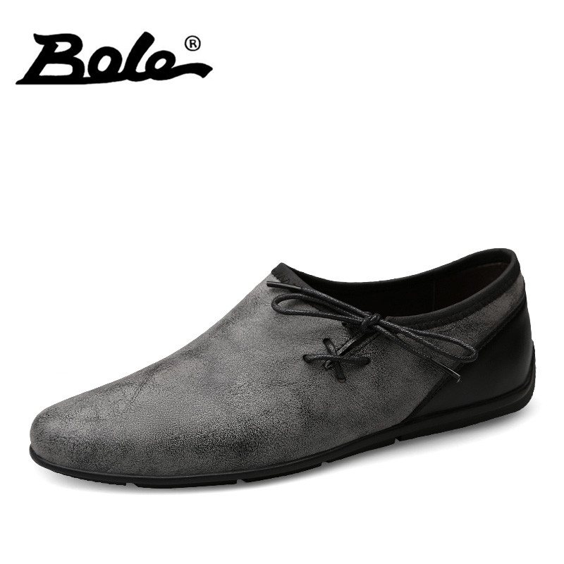 BOLE New Designer Men Casual Shoes Summer Flats Fashion Slip on Driving Shoes Moccasins Leather Men Loafers Breathable Shoes Men 2017 new men loafers summer fashion men casual leather d shoes comfortable men flats non slip breathable shoes