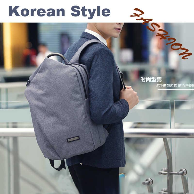 TUGUAN Повседневное корейском и японском стиле большой Ёмкость для 15,6 дюймов ноутбука Водонепроницаемый рюкзак для женщины и мужчины дорожные сумки