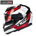 En venta!!!!!!! marca LS2 de la cara llena casco de la motocicleta. beon medio casco. motocross casco sólo 1 unids de actividad