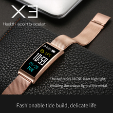 ABAY X3 Smart Watch Steel/Silicon Strap Waterproof IP68 Blood Pressure Heart Rate Monitor Wristband TFT IPS Bracelet Swim