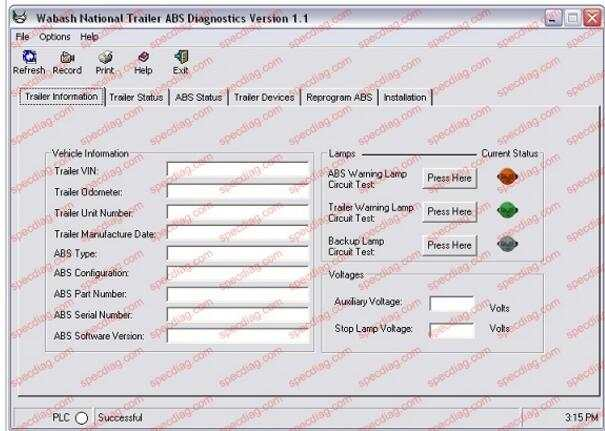 US $175 0 |HEAVY DUTY ABS TRACTOR/TRAILER DIAGNOSTIC SOFTWARE KIT For  Bendix,Haldex,Meritor Wabco,Wabash-in Software from Automobiles &  Motorcycles on