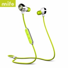 mifo i8 Sports Bluetooth Earphone Stereo Music Wireless Headset Magnetic Suction Charging Earphones Headphone For Iphone Samsung