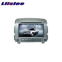 Для Hyundai Sonata NF 2004 ~ 2009 liislee Автомобильный мультимедийный ТВ DVD GPS аудио hi fi Радио стерео оригинальный Стиль навигации navi