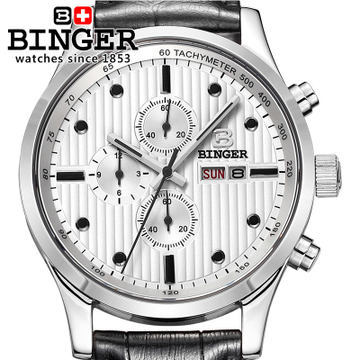Free Shipping 10 Colors 15 Newest Binger High Quality Japan Movements Fashion Sport Army Watches Men