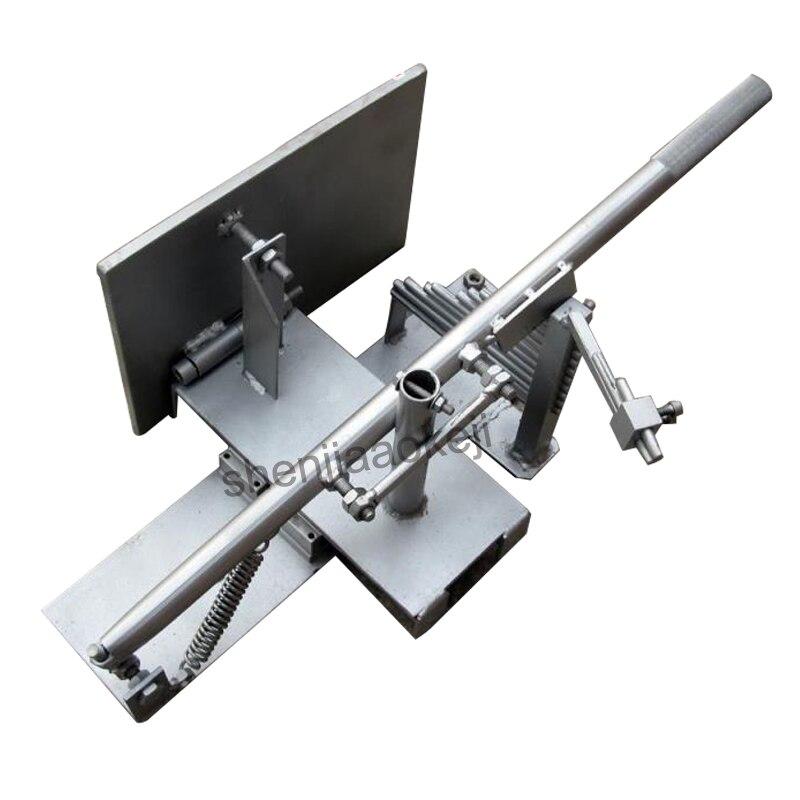 Machines à bois scie à ruban plaque mobile déflecteur actif limiteur plaque scieuse lame de scie réglage du rail 1 pc