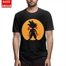 Dragon Ball Son Goku T-shirt For Male Popular T-Shirt Round Collar Alicedream Homme T Shirt ball shirt Casaul