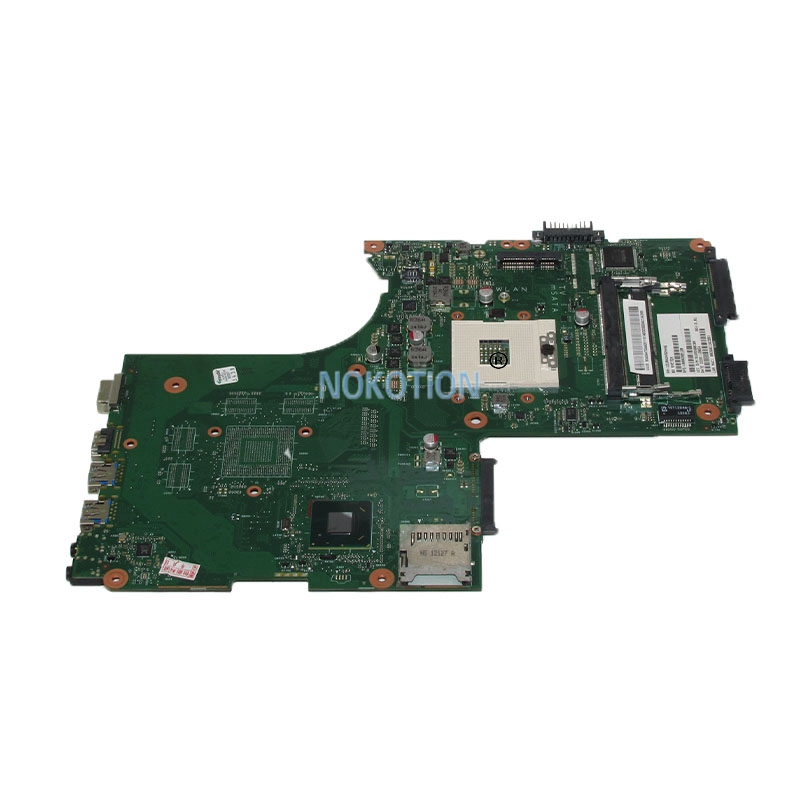 NOKOTION V000288120 1310A2492446 Laptop motherboard For toshiba satellite P870 P875 MainBoard SLJ8E 6050A2492401-MB-A02 DDR3 nokotion for toshiba satellite c850d c855d laptop motherboard hd 7520g ddr3 mainboard 1310a2492002 sps v000275280