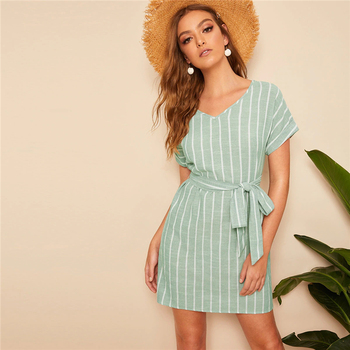 Boho A-Type short sleeve dress