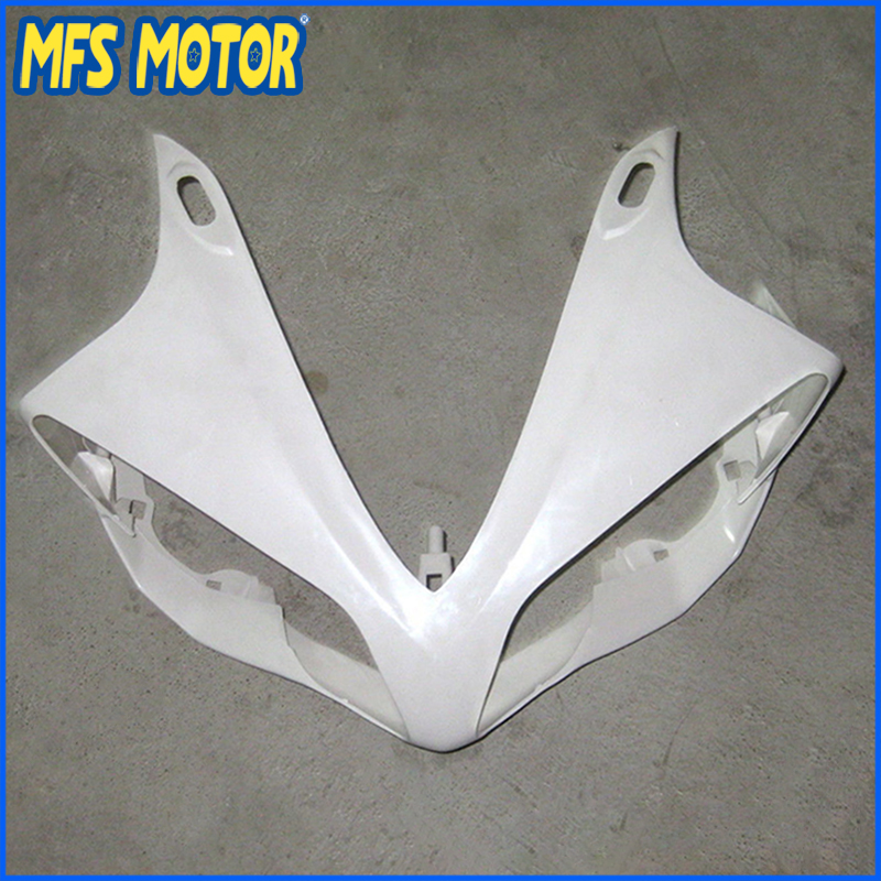 New Upper Fairing Unpainted Front Cowl Head For YAMAHA 07 08 YZF R1 YZF-R1 2007 2008