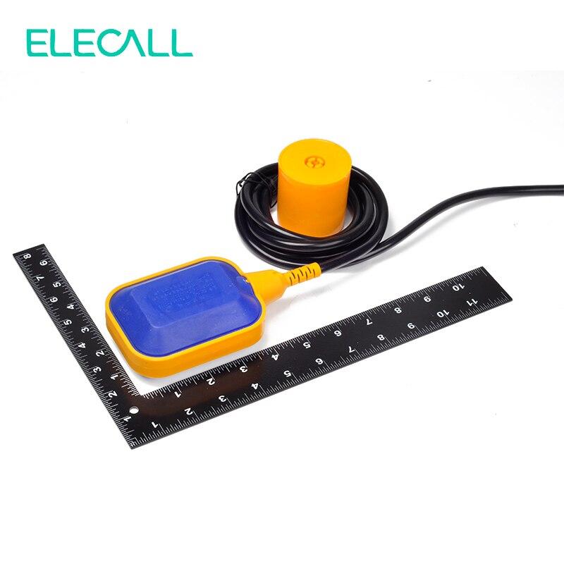 ELECALL 12M contrôleur flotteur interrupteur liquide commutateurs liquide fluide niveau d'eau flotteur interrupteur contrôleur contacteur capteur - 5