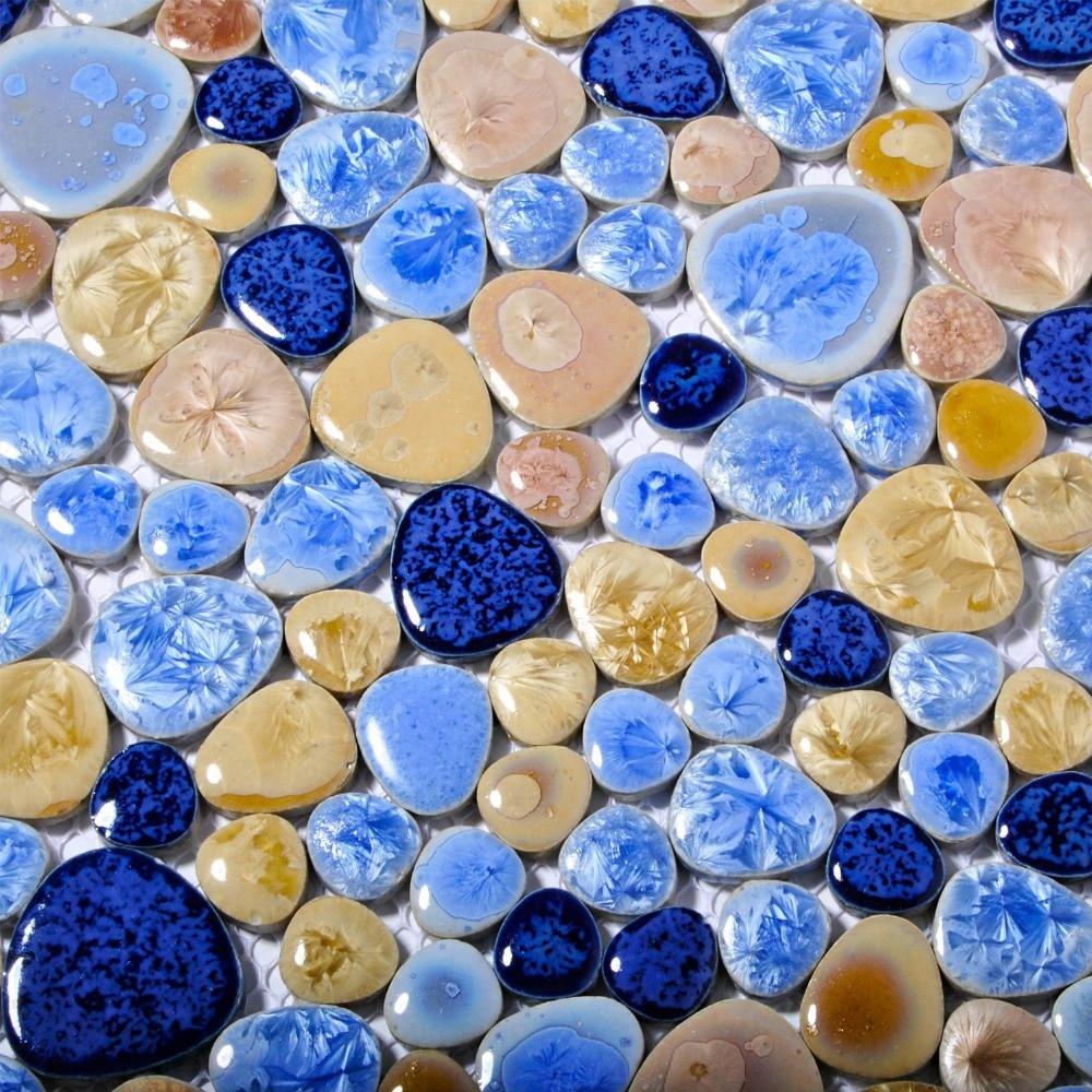 Navy Blue And Tan Bathroom: Online Buy Wholesale Glazed Porcelain Floor Tile From