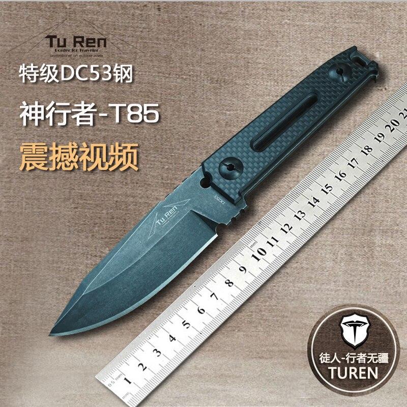 Высококачественный армейский нож для выживания, высокопрочные ножи для дикой природы, основной нож для самозащиты кемпинга, охоты, инструм