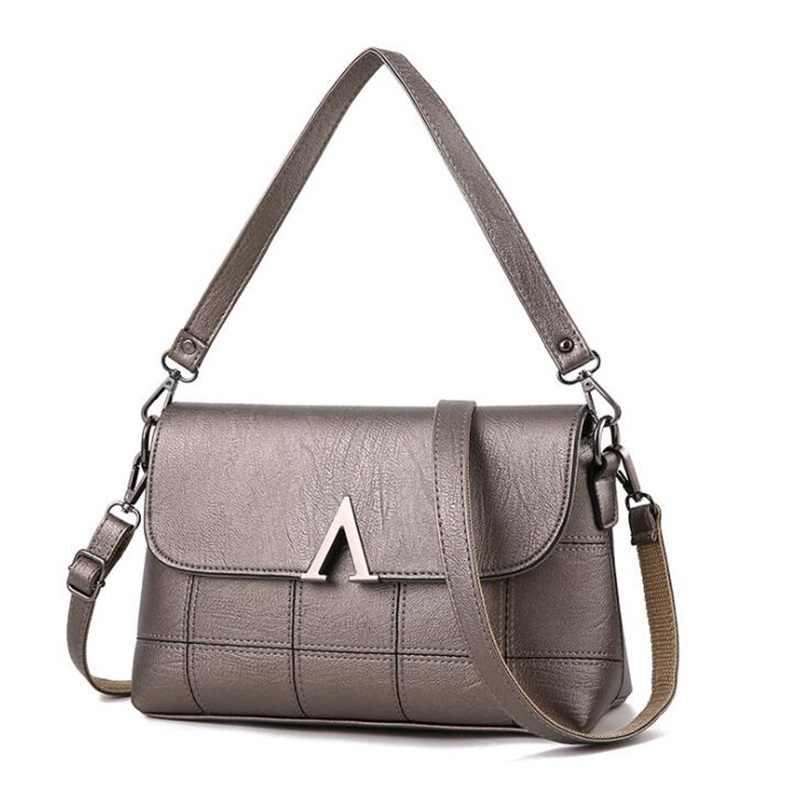 FGJLLOGJGSO Marke handtasche 2018 Neue mode Damen Einzel schulter tasche frauen temperament abdeckung tasche weibliche PU leder luxus tasche