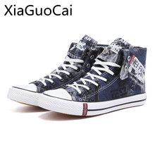 Spring and Autumn Breathable Men Casual Shoes Cow Leather Male Canvas Shoes Young People Lace-up Flats Non-Leather Casual Shoes