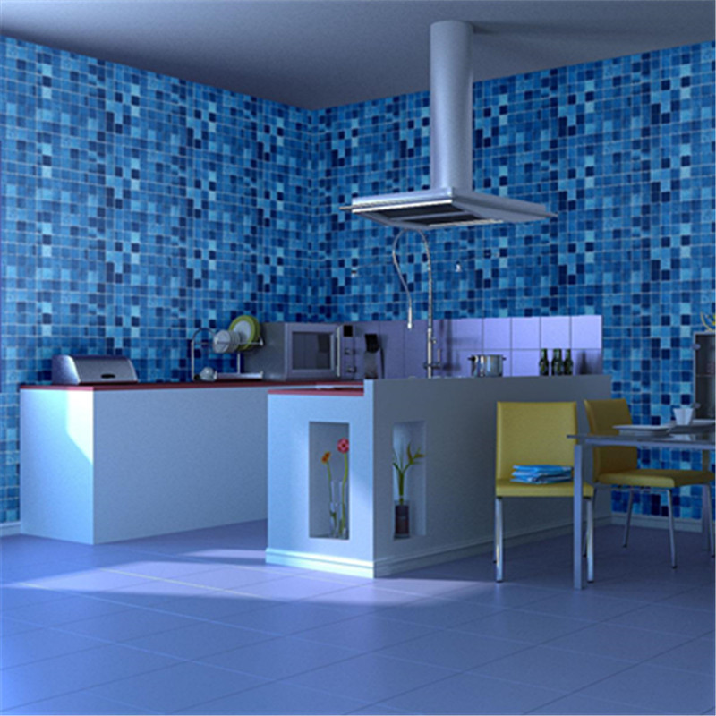 Superieur 45cmX10m Waterproof Self Adhesive Wallpaper Roll Kitchen Bathroom Home  Decor PVC Decorative Film Removable Vinyl Wall Stickers In Wallpapers From  Home ...