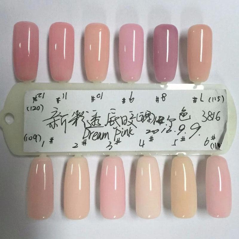 Aliexpress.com : Buy Pro Gel Nail Polish Base French Manicure LED UV ...