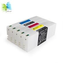 WINNERJET 700ml 5pc/lot Sublimation Ink Cartridge For Epson 7700 9700 Printer