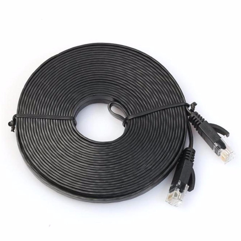 Aliexpress.com : Buy 20m 30m cable Pure copper wire CAT6 Flat UTP ...