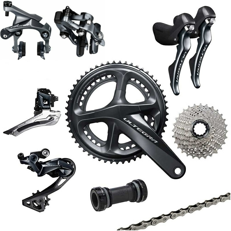 shimano Ultegra R8010 11 Speed R8000 Groupset Road Bike Groupset 170 172 5 175mm 50 34