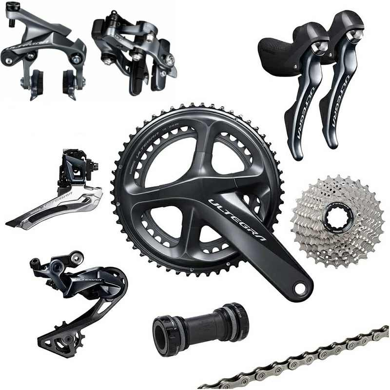 0a9b83cbb30 Detail Feedback Questions about shimano Ultegra R8010 11 Speed R8000  Groupset Road Bike Groupset 170/172.5/175mm 50 34 52 36 53 39 Bicycle Group  Set 2*11 ...