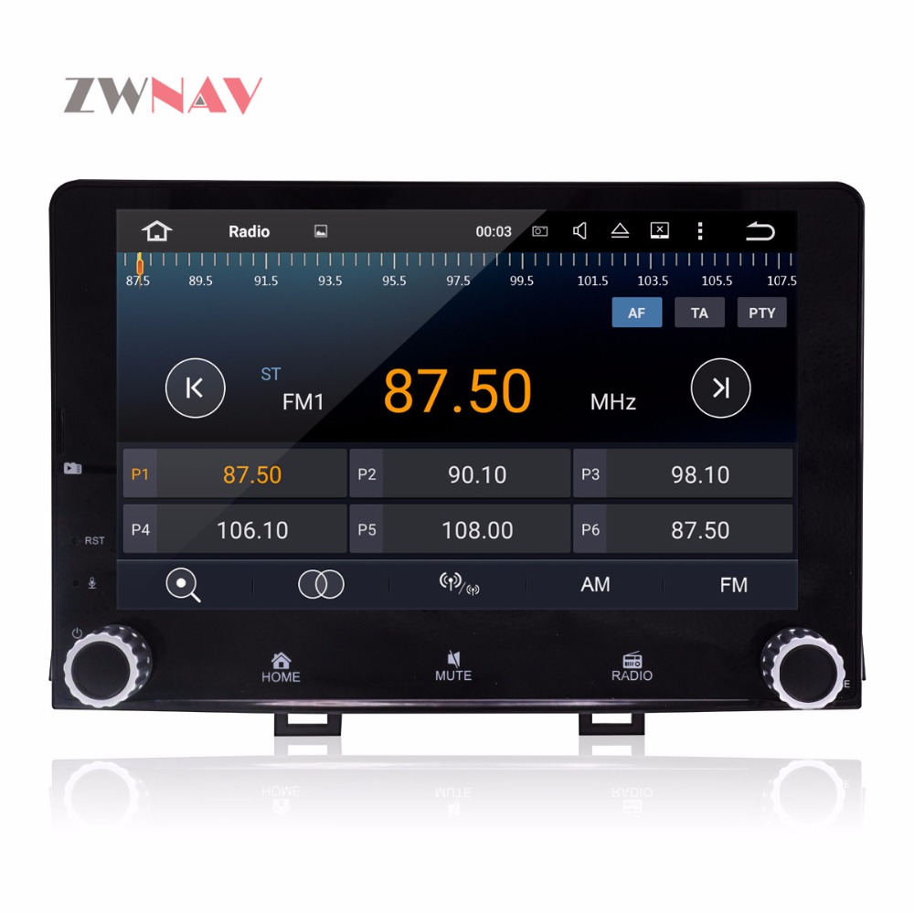 Android 8.0 Full Touch Screen IPS 8 Inch HD Car GPS DVD Player Sat Nav Radio for KIA RIO 2017 2018