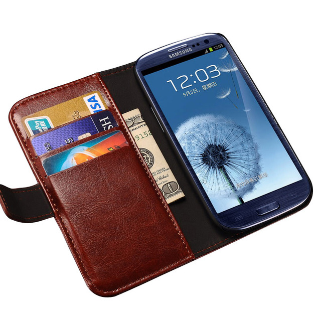 best sneakers ff998 c51ee US $4.98 |Wallet Leather Case For Samsung Galaxy Grand Duos i9082 Grand Neo  Plus i9060 Card & Cash Holder Stand Style Back Cover Case-in Wallet Cases  ...