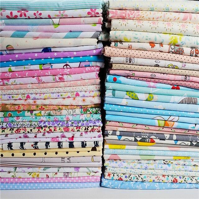 32pcs 2025cm Random Cotton Fabric Patchwork For Sewing Scrapbooking
