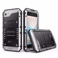 NEW Luxury Heavy Duty Protection Waterproof Dropproof Shockproof Metal Aluminum Silicone Protective Case For Iphone 6