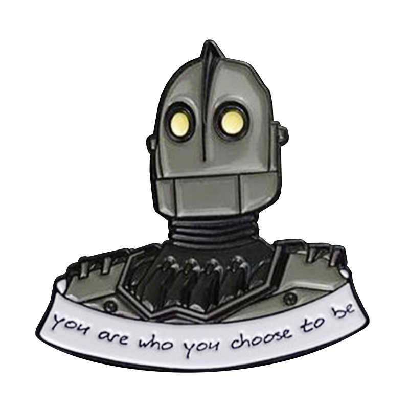 De Iron Giant Pin