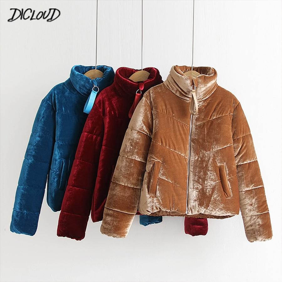 Женское зимнее пальто модный фланелевый толстый хлопок теплая Женская куртка с воротником стойкой, свбодная Повседневная Верхняя одежда Parkat солидное пальто