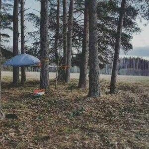 Image 4 - خيمة تخييم من SKYSURF مزودة بشجرة من 3 إلى 4 أشخاص خفيفة محمولة للتخييم على شكل مثلث خيمة معلقة للتخييم على الشاطئ أرجوحة للتخييم