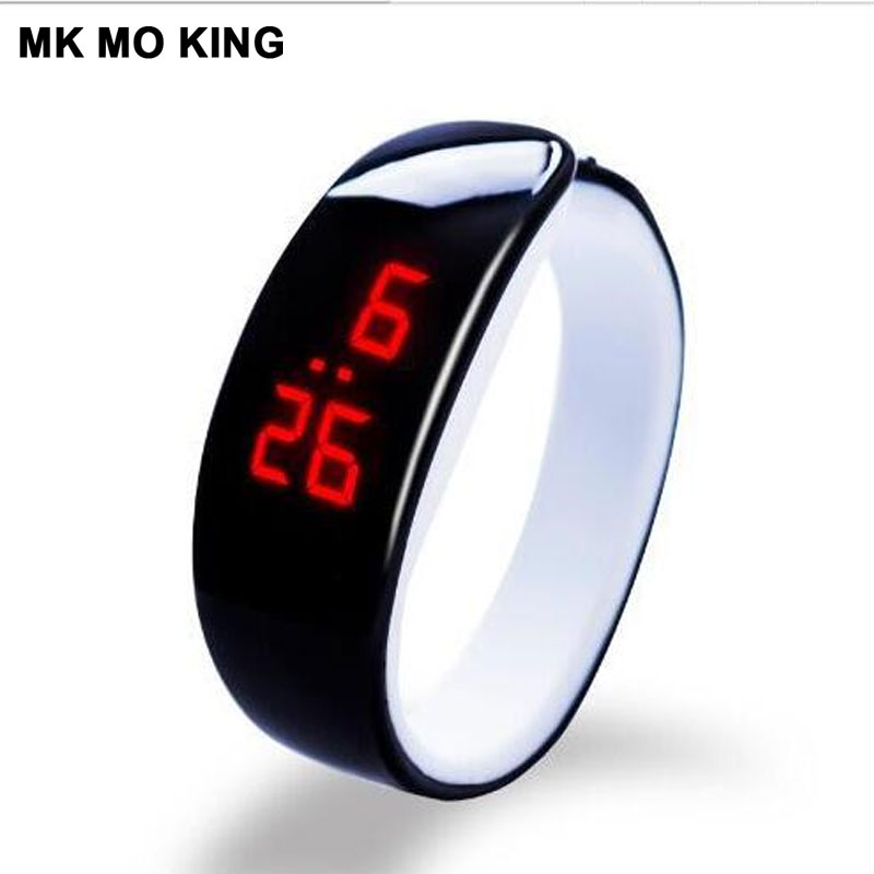 Fashion Sports Running LED Electronic Watch Male/Female Bracelet Valentine's Day Gift Leisure Clock Lady Ladies Wrist Watch Dw