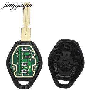 Image 5 - jingyuqin Cut Blade Car Remote Key FOB for BMW EWS X3 X5 Z3 Z4 1/3/5/7 Series E38 E39 E46 315/433MHz ID44 Chip Transmitter