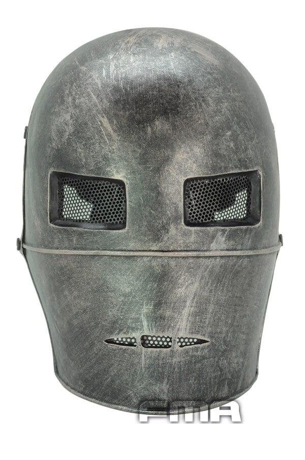 FMA страйкбол проволочной сетки армии из двух биохимических полный маска для лица